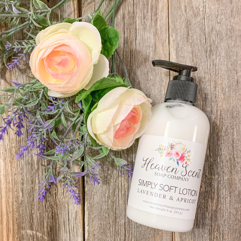 Lavender & Apricot Simply Soft Lotion
