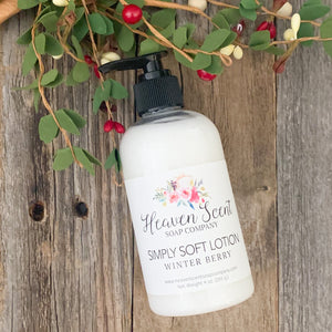 Winter Berry Simply Soft Lotion