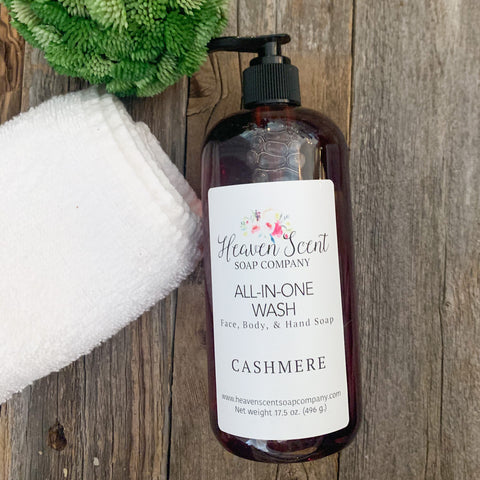 Cashmere All-In-One Wash
