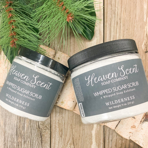 Wilderness Whipped Sugar Scrub