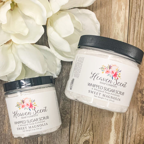 Sweet Magnolia Whipped Sugar Scrub