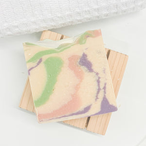 Lavender & Apricot Goat's Milk Bar Soap