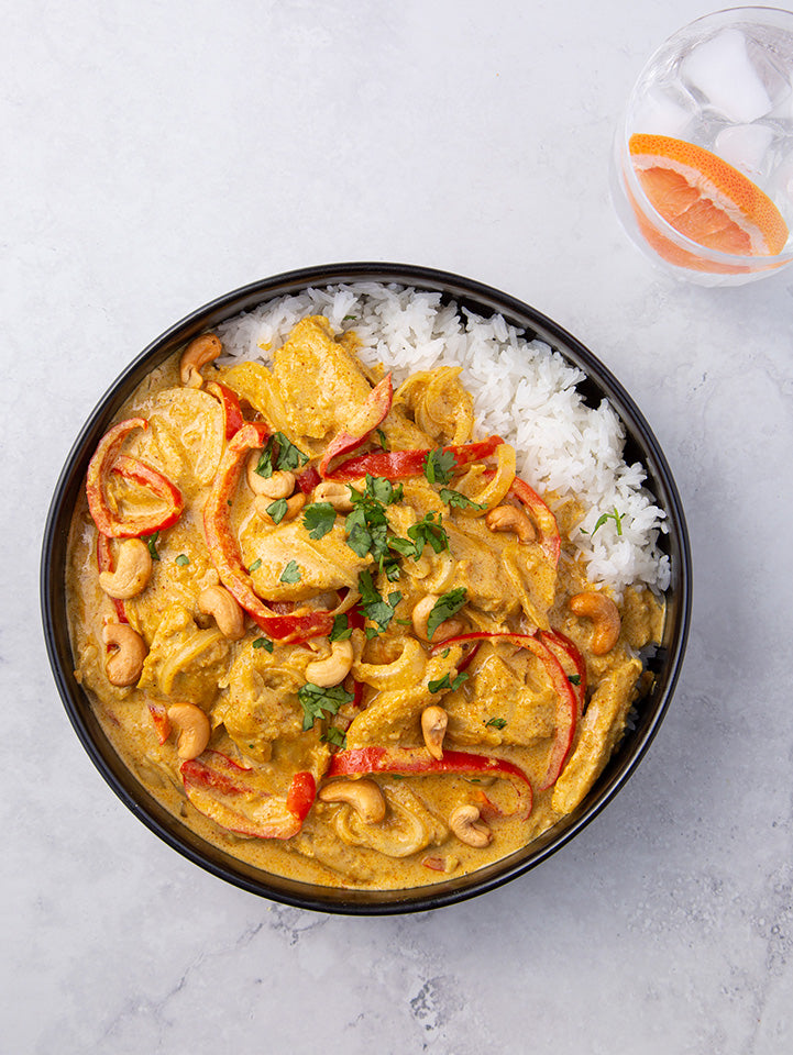 'cause coconut cashew curry, that's why