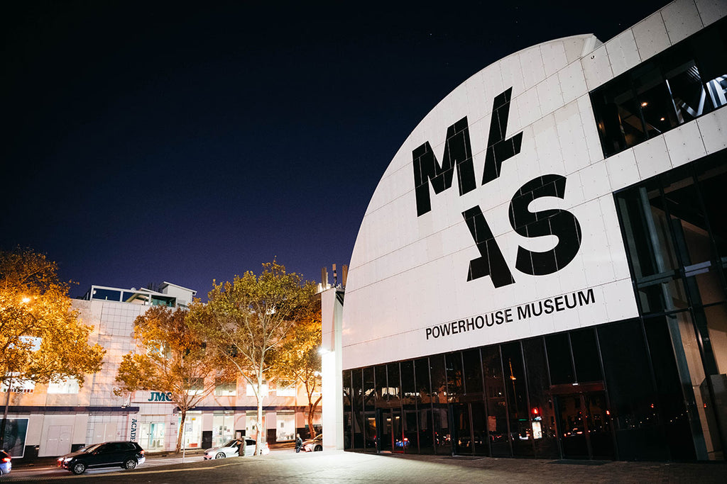 Talking at The Powerhouse Museum