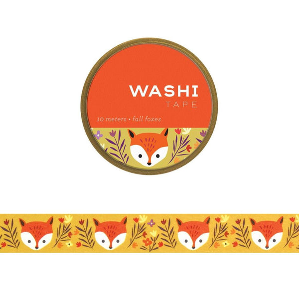 Fall Foxes Washi Tape
