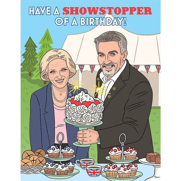 Showstopper Birthday Card