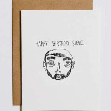 Happy Birthday Steve Card