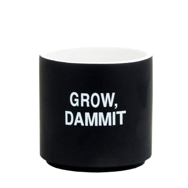 Grow Dammit Small Planter