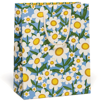Seventies Daisy Gift Bag - Large