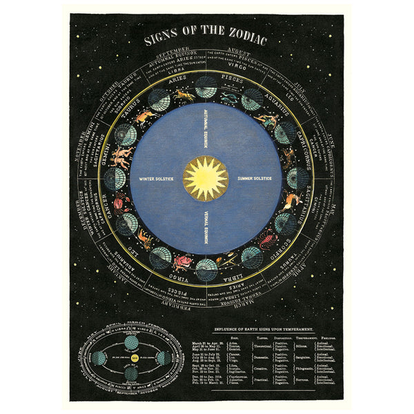 Signs of the Zodiac Poster