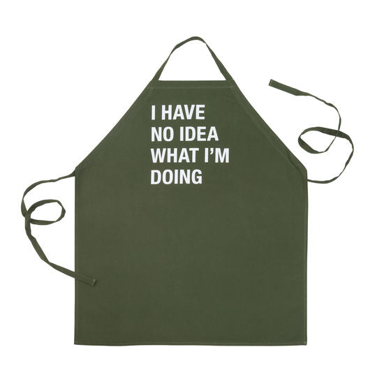 No Idea What I'm Doing Apron