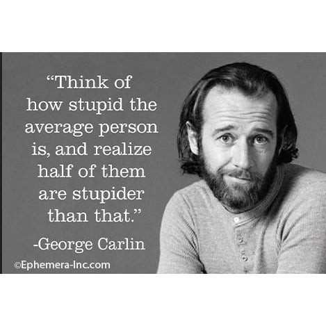 George Carlin Magnet