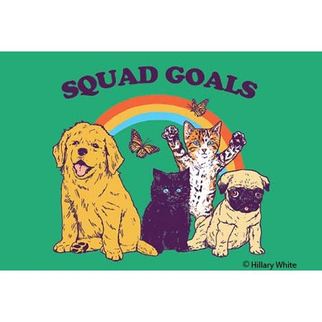 Squad Goals Cats & Dogs Magnet