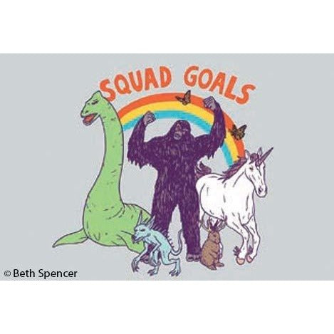 Squad Goals Mythical Creatures Magnet