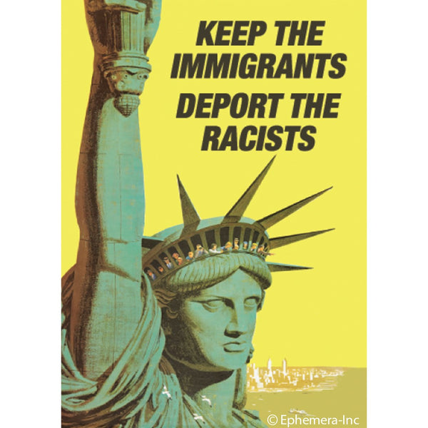 Deport the Racists Magnet