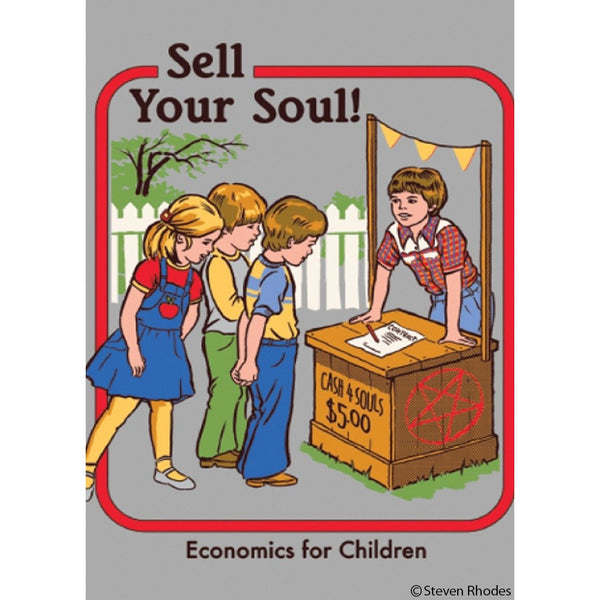 Sell Your Soul Magnet