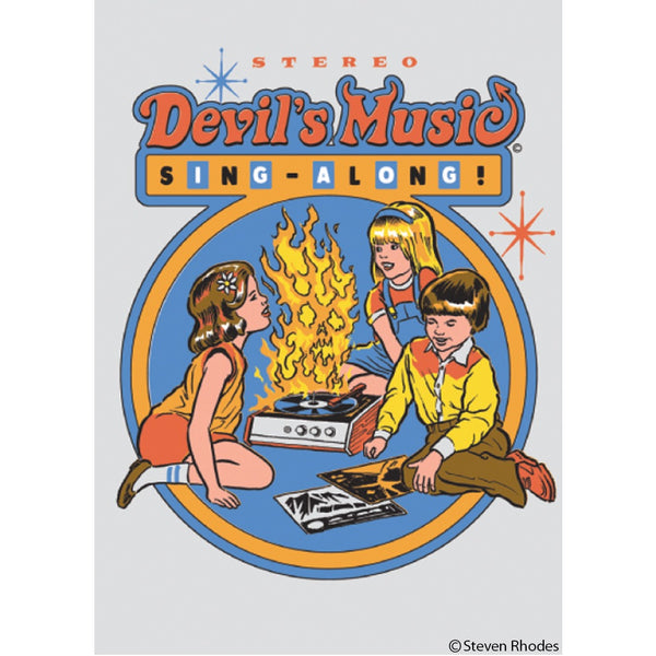 Devil's Music Magnet