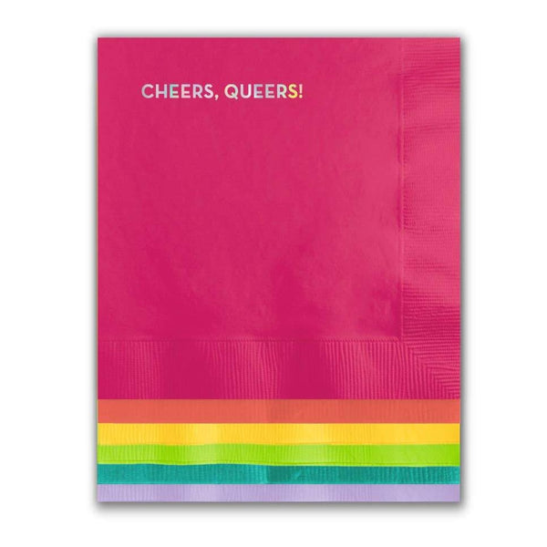 Cheers Queers Napkins