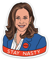 Kamala Stay Nasty Die Cut Sticker