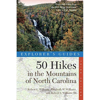 50 Hikes in the Mountains of North Carolina