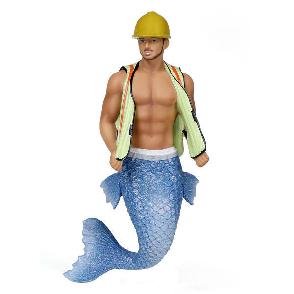Hard Hat Merman Ornament
