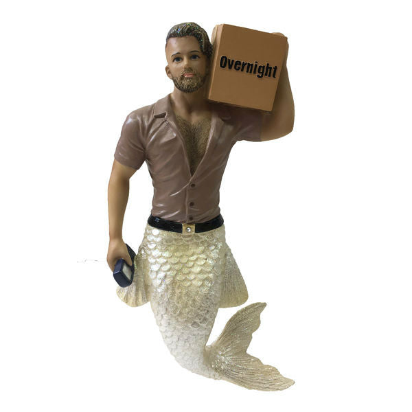 Big Package Merman Ornament