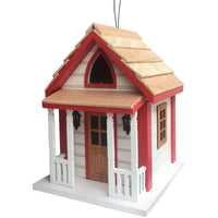 Country Charm Cottage Birdhouse