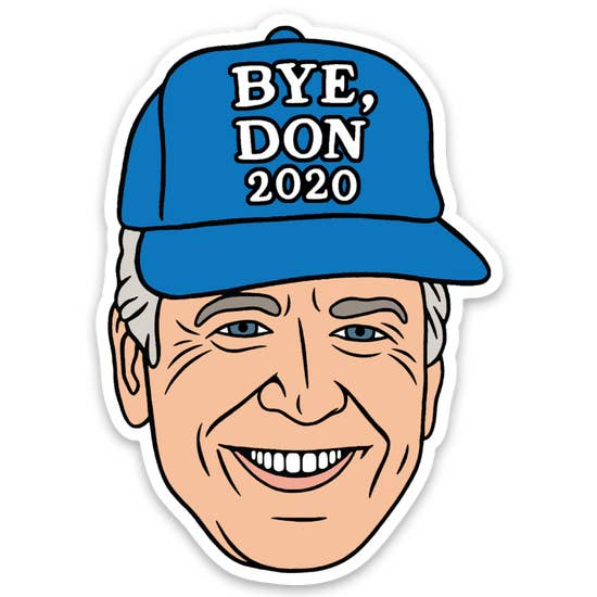 Bye Don Sticker