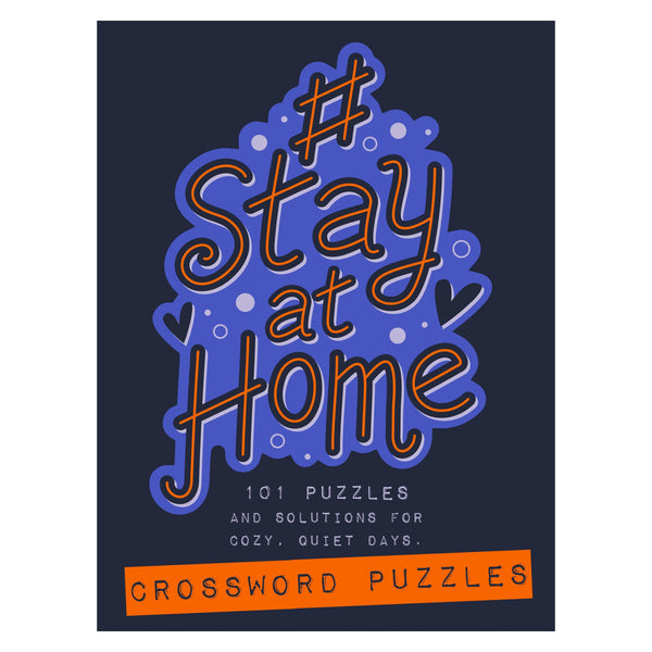 #StayatHome Crossword Puzzle Book