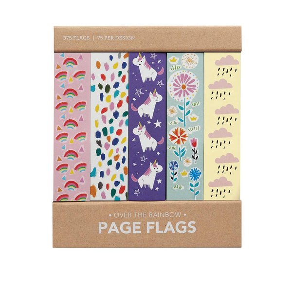 Over the Rainbow Page Flags