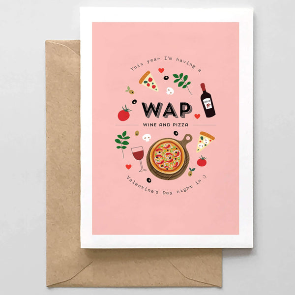 WAP Valentine's Day Card