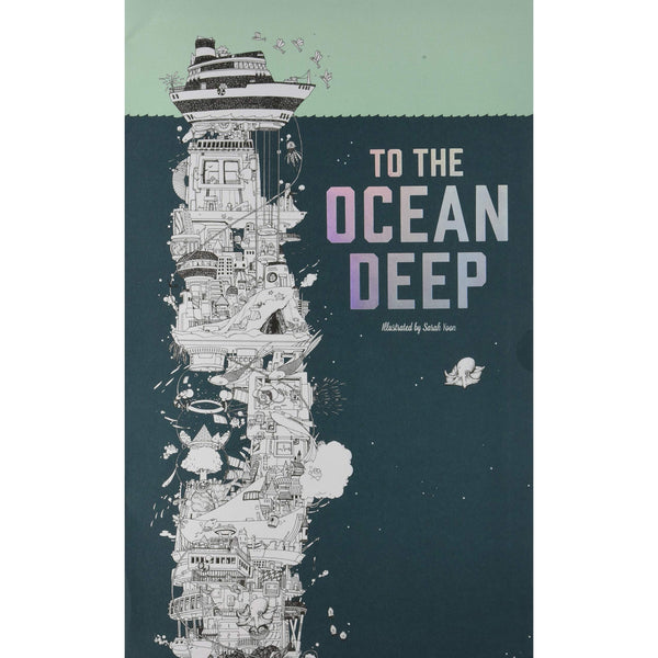 To the Ocean Deep Coloring Book