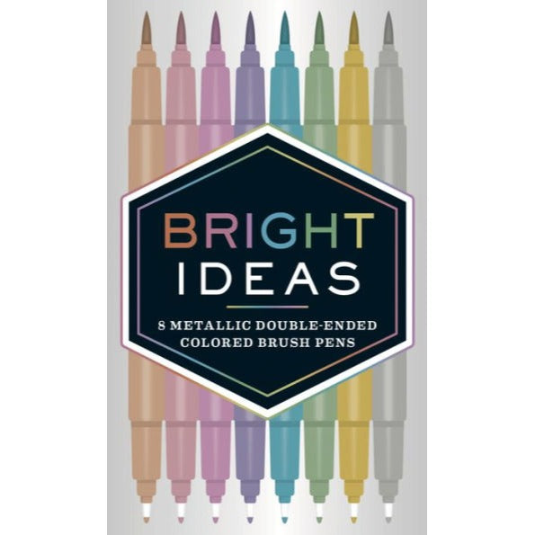 Bright Ideas Metallic Double Ended Pens