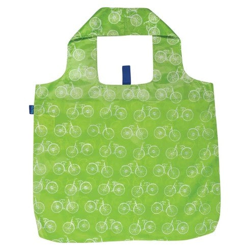 Eco-friendly Reusable Shopping Bag - Summer Bikes
