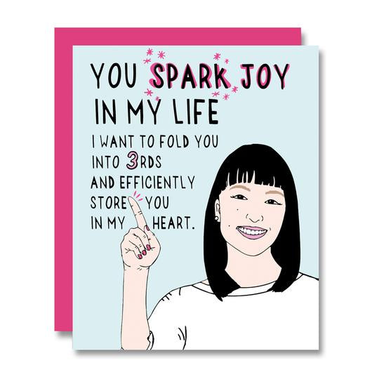 Sparkling Joy Card