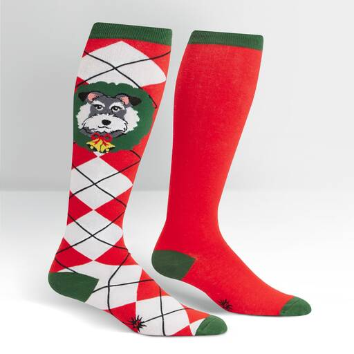 Deck The Paws Unisex Knee High Socks