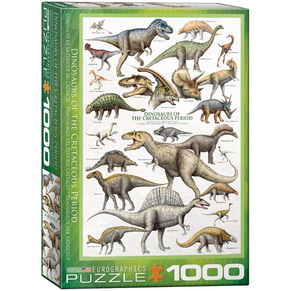 Dinosaurs of the Cretaceous Period Puzzle