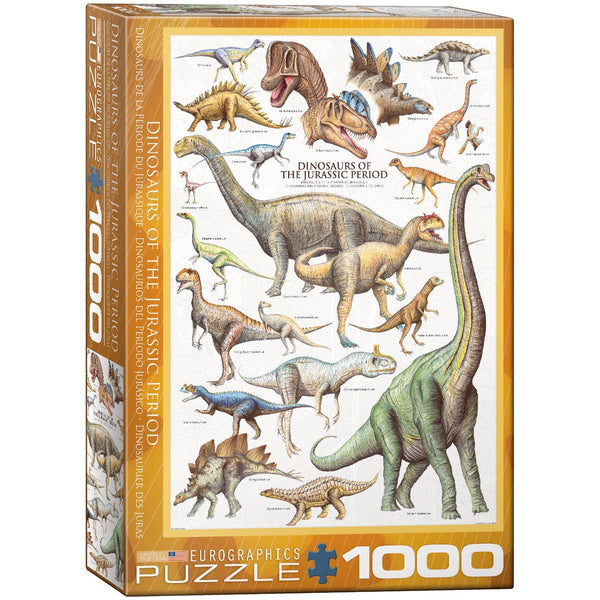 Dinosaurs of the Jurassic Period Puzzle