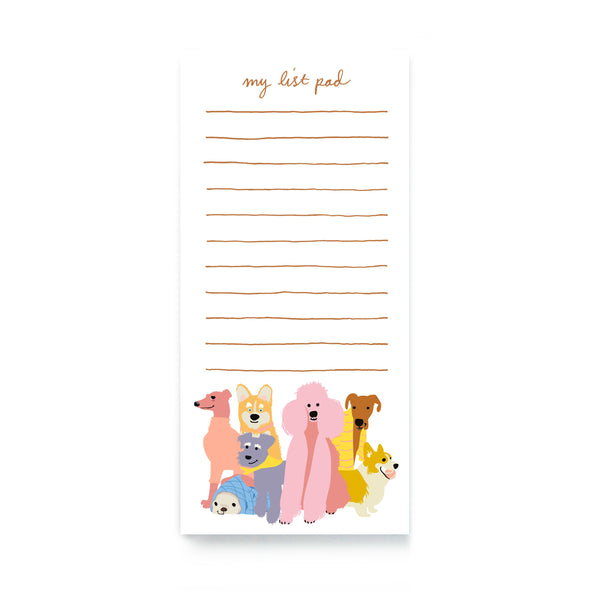 Loving Dogs Notepad