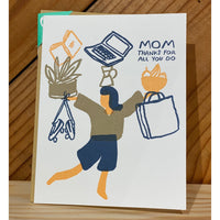 Juggling Thanks Card