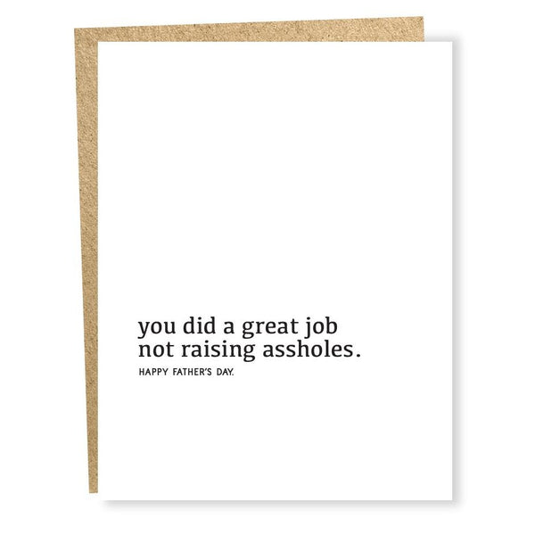 Great Job Card - Father's Day
