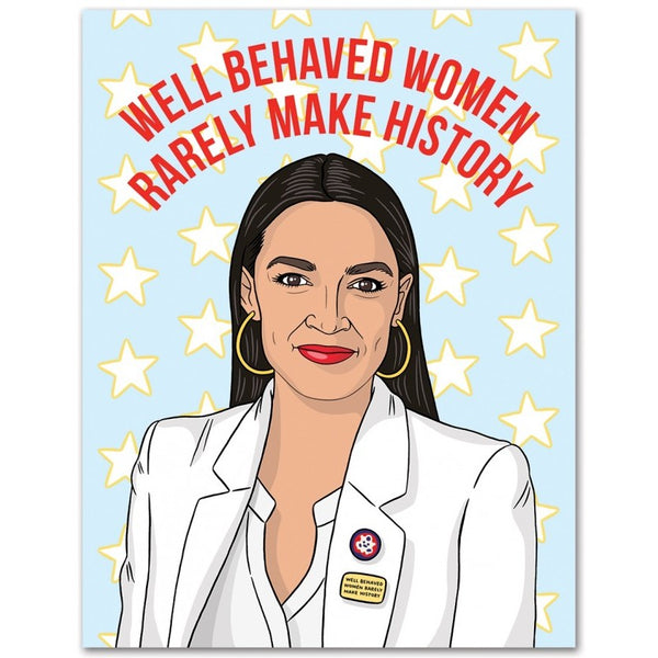 AOC Birthday Card
