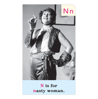 Feminist ABCs Flashcards