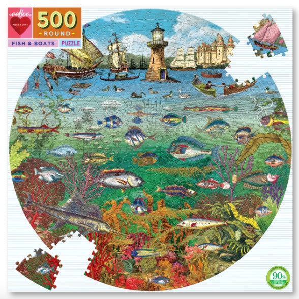 Fish & Boats Puzzle