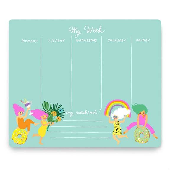 Fun Girls Weekly Planner