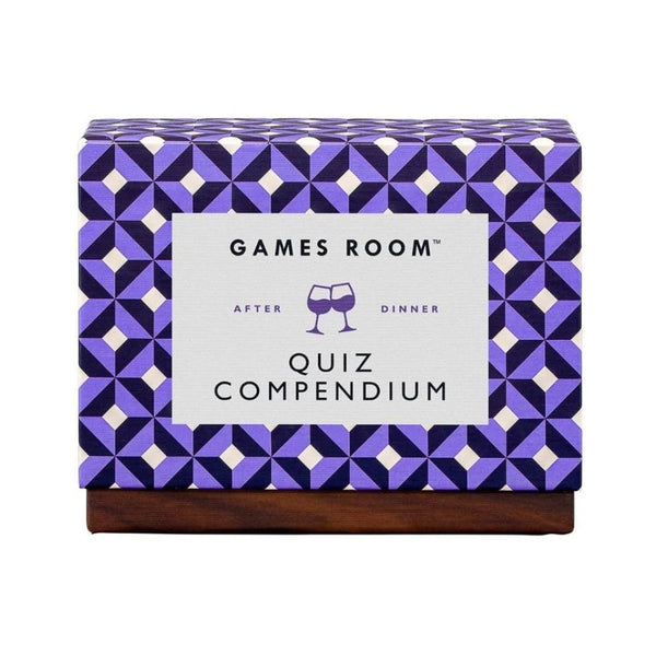 After Dinner Quiz Compendium