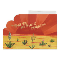 Magnificent Sunset Card