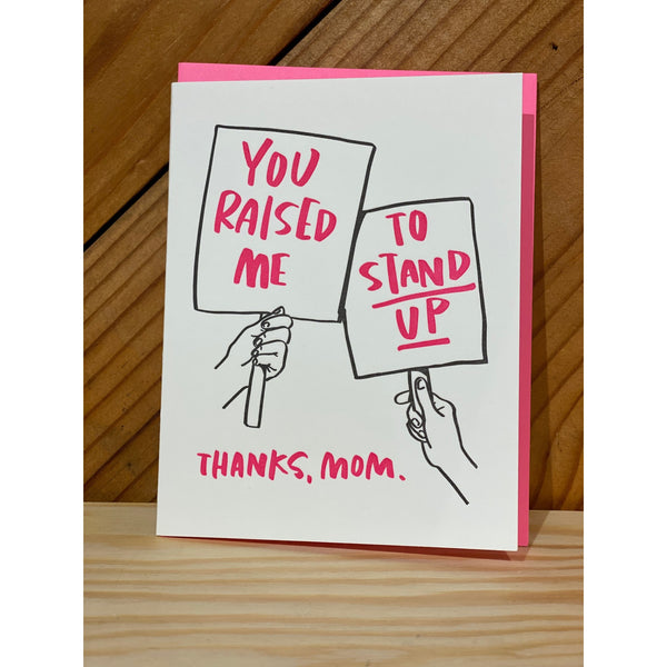 Stand Up Card