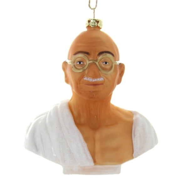 Gandhi Bust Ornament