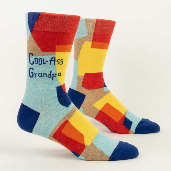 Cool Ass Grandpa Men's Crew Sock